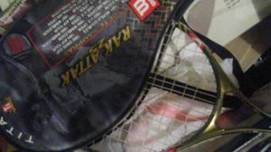 3 Tennis racket with covers for Sale in Kensington, MD