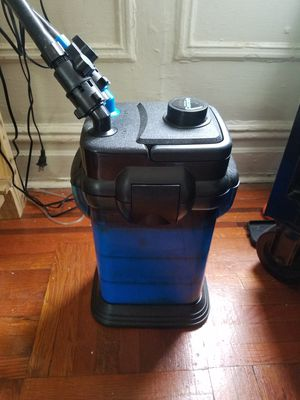 The Penn Plax Cascade 1000 Canister Aquarium Filter for Sale in Brooklyn, NY