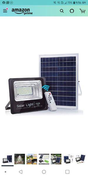 100W Solar powered street flood lights for Sale in GLOUCSTR CITY, NJ