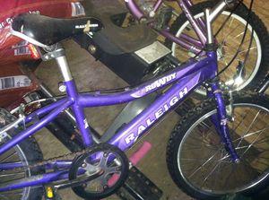 Raleigh mountain bike for Sale in South Burlington, VT