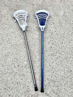 Set of 2 Lacrosse Sticks for Sale in Dacula, GA