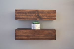 """Two 18"""" kona floating shelves for Sale in Tampa, FL"""