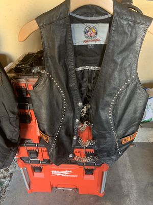 Motorcycle Ladies Leather Vest for Sale in Chula Vista, CA