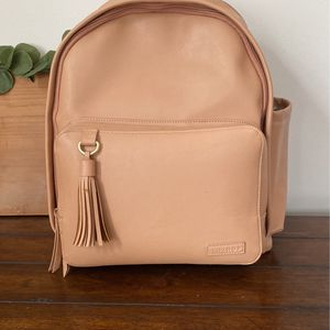 SkipHop Greenwich Caramel Diaper Bag Vegan Leather for Sale in Douglasville, GA