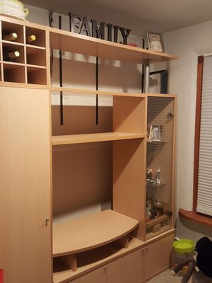 Wall unit ,in perfect condition. It comes a part easily. for Sale in Brooklyn, NY