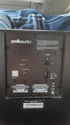 Polk Audio home subwoofer for Sale in Bremerton, WA