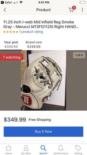 marucci grey baseball glove m13fg11251 for Sale in Glen Carbon, IL