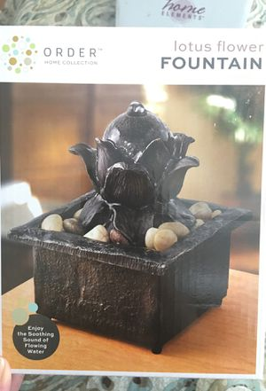 LOTUS FLOWER WATER FOUNTAIN for Sale in Rockville, MD