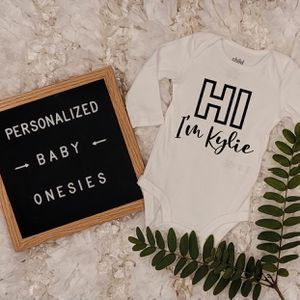 Custom Baby Onesie , Personalized Onesie , Pregnant , Newborn for Sale in Chula Vista, CA