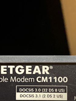 Netgear CM1100 Multi-Gig Modem for Sale in Lakeside,  CA