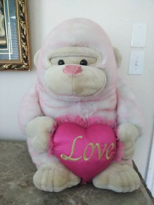 Love Pink Heart Stuffed Animal for Sale in Humble, TX