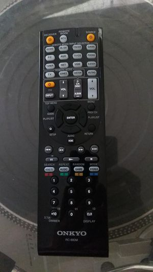 Really nice Onkyo rc-880m remote for Sale in Phoenix, AZ