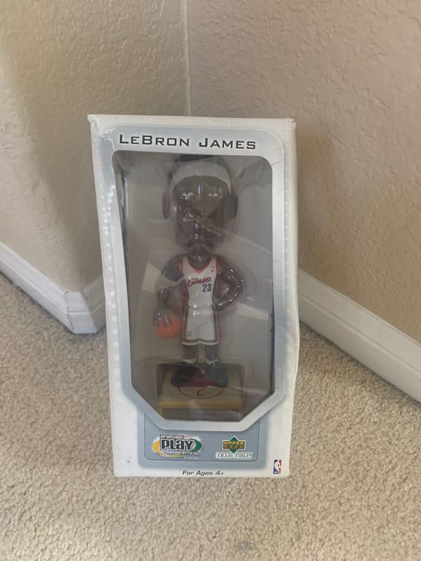 Brand new in box, Cleveland Cavaliers #23 2003 Lebron James Bobblehead