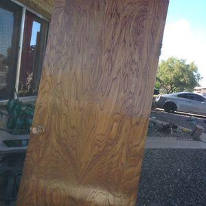 Interior oak door 28by 78 for Sale in Tempe, AZ
