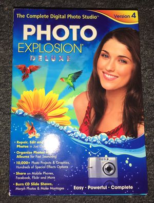 Photo editing software Photo Explosion Version 4 new sealed for Sale in Columbus, OH