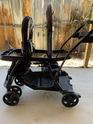 Graco ready2grow double stroller for Sale in San Antonio, TX