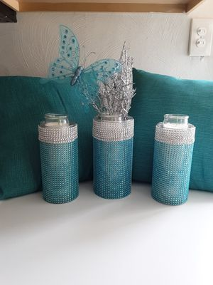 Butterfly Candle Set of 3 for Sale in Chesapeake, VA