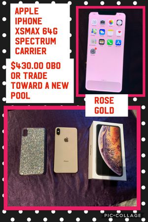 Apple IPhone XS Max 64 gig $425.00 Obo or like New for Sale in Orosi, CA