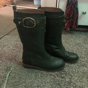 Size 5.5 lucky brand boots leather studded for Sale in Alexandria, VA