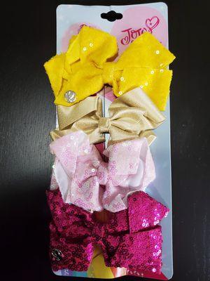 4 pcs JOJO SIWA girl bows, brand new for Sale in Woodbridge, VA