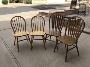 Wooden chairs for Sale in Fort McDowell, AZ