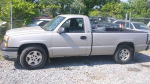 2005 Chevy Silverado v6 97k miles 5-Speed stick shift runs and drives!!! for Sale in Fort Washington, MD