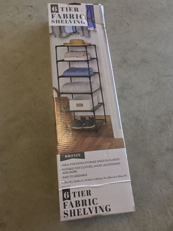 Portable shelving/organizer
