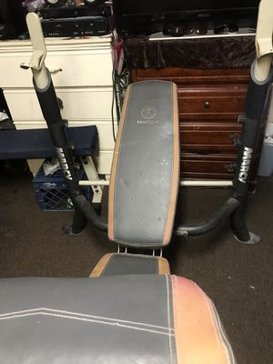 WEIGHT BENCH MARCY for Sale in Los Angeles, CA