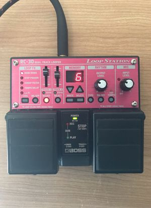BOSS RC-30 Loop Pedal Station for Sale in Bloomington, IL