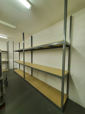 Solid stand include three shelves for Sale in Las Vegas, NV
