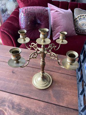Five arm candelabra for Sale in Auburn, WA