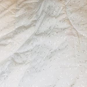 Dainty Eyelet Twin White Comforter for Sale in Montgomery, AL