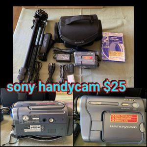 Sony handycam and tripod for Sale in Hanford, CA