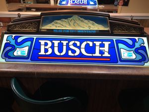 Busch pool table light for Sale in Huntley, IL