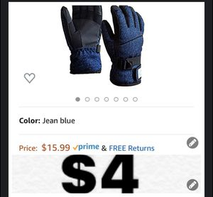 Brand new Child Winter Gloves, Kid's Gloves -Waterproof Windproof Warm Gloves for Skiing Cycling - Elastic Finger Thickening for Boys and Girls- 6-10T for Sale in Southwest Ranches, FL
