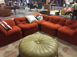 Vintage Mid Century Modern Couch Sectional for Sale in Atlanta, GA