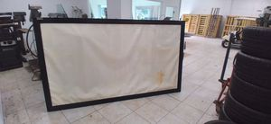 Vutec VisionX Projection Screen (frame ok, fabric stained) for Sale in West Palm Beach, FL