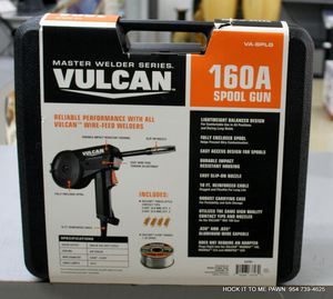 Vulcan Master Welder Series 160A Lightweight Aluminum Spool Gun VA-SPLG # 63793 NEW for Sale in Lauderhill, FL