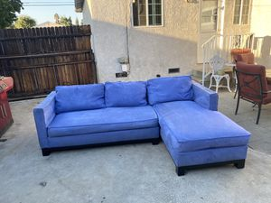 Blue Sectional Sofa/Couch for Sale in Alhambra, CA