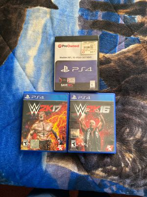 PS4 games $20 each firm for Sale in Los Angeles, CA