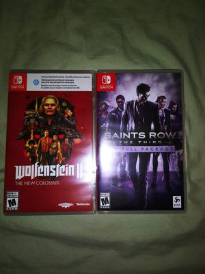 Nintendo switch games for Sale in Robertsdale, AL