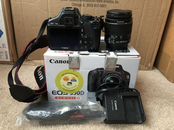 Canon 550D (T2i) with 18-55 mm Lens