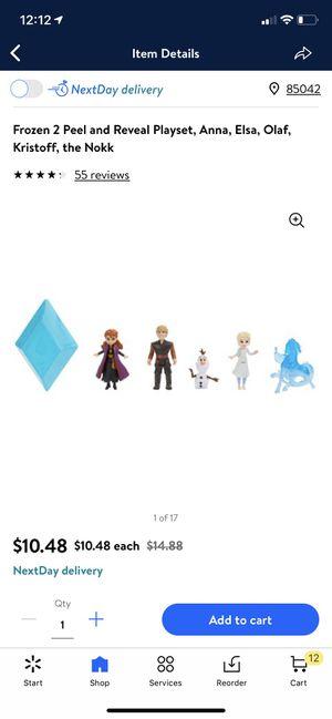 Frozen play set toys for Sale in Tempe, AZ