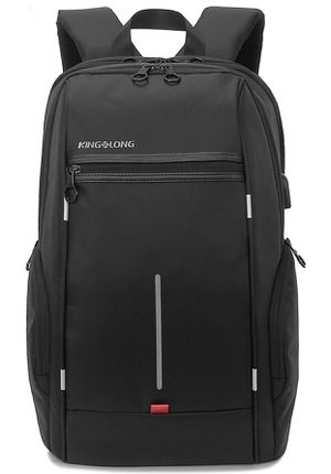 BLACK KINGSLONG 15.6 inches LAPTOP BACKPACK WITH USB PORT for Sale in Bristow, VA