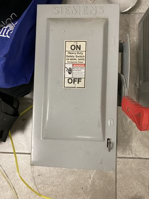 Circuit breaker box - power on off electrical box for Sale in San Diego, CA