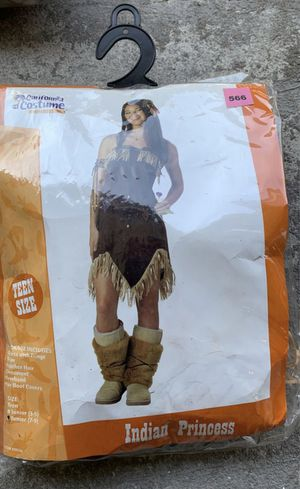 Pocahontas. Halloween. Costume. Pocahontas. Teen size 7-9 for Sale in South Gate, CA