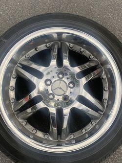 Mercedes Rims Tires 19' for Sale in Irvine,  CA