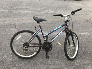24-inch Huffy mountain bike for sale. Works well. $45, cash only. Can deliver it to you if you're not too far from short pump area and if you are wil for Sale in Henrico, VA