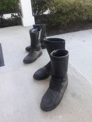 Motorcycle boots - BMW motorrad brand Goretex size 46 and 43 Euro made on Italy for Sale in Huntingdon Valley, PA