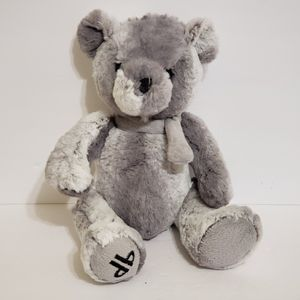"Dennis Basso Home TEDDY BEAR 15"" Gray Soft Toy PLUSH for Sale in La Grange Park, IL"